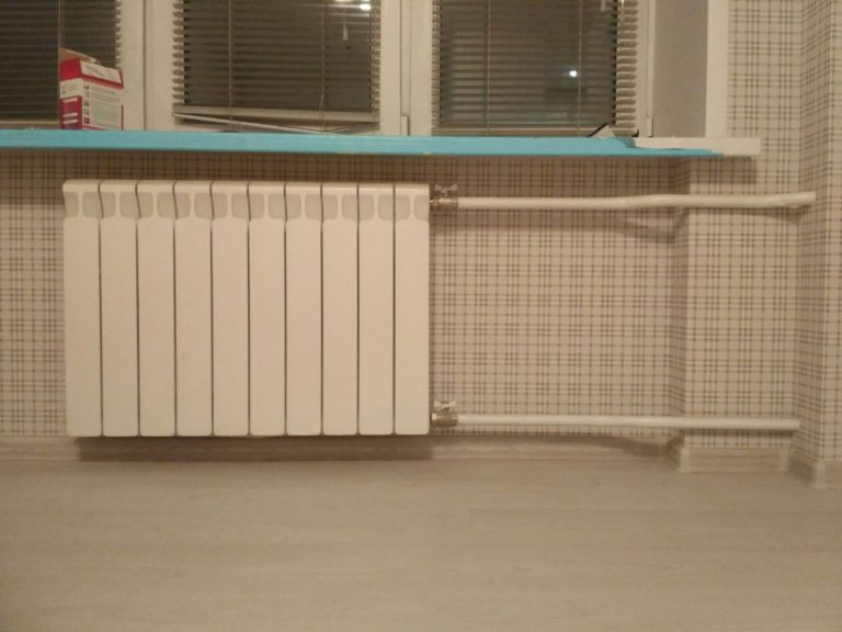 замена радиаторов в ходе ремонта квартиры под ключ Солнечногорск