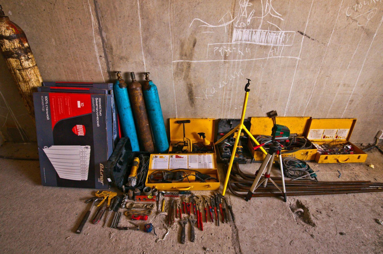 наш инструмент для замены радиатора отопления на сварке