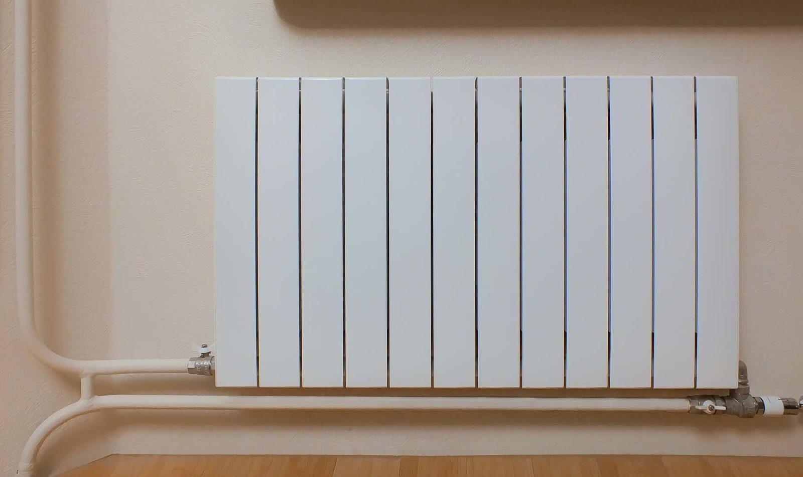 эталон замены радиатора отопления при нижней подаче