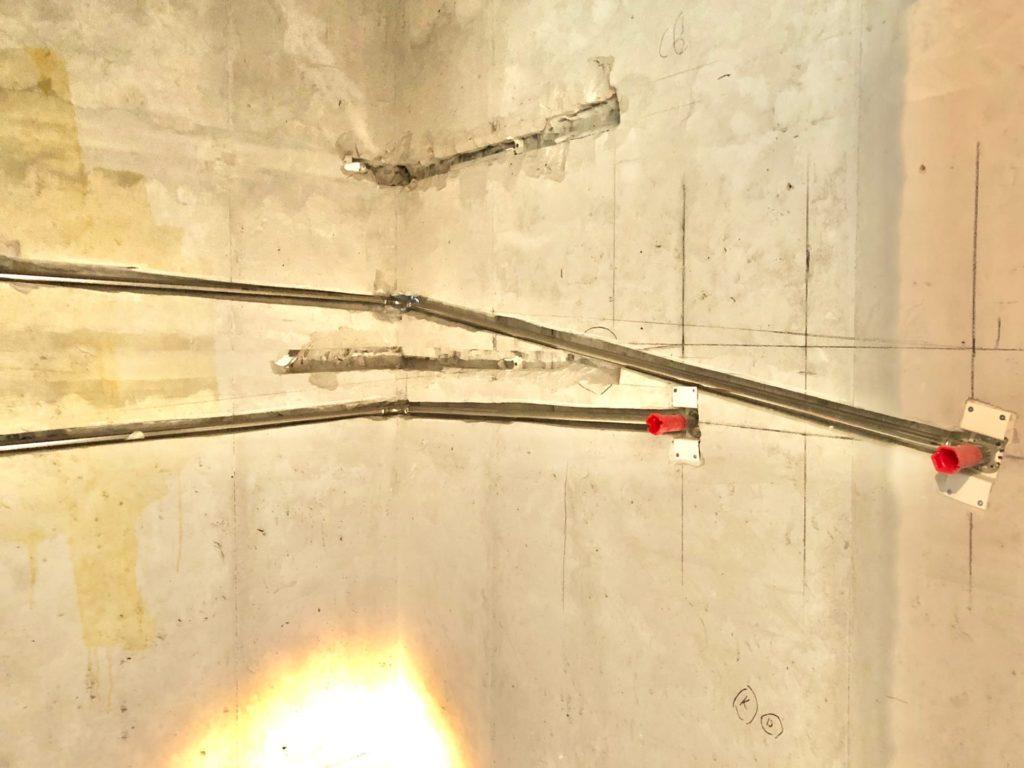 уклон подводящих труб до полотенцесушителя