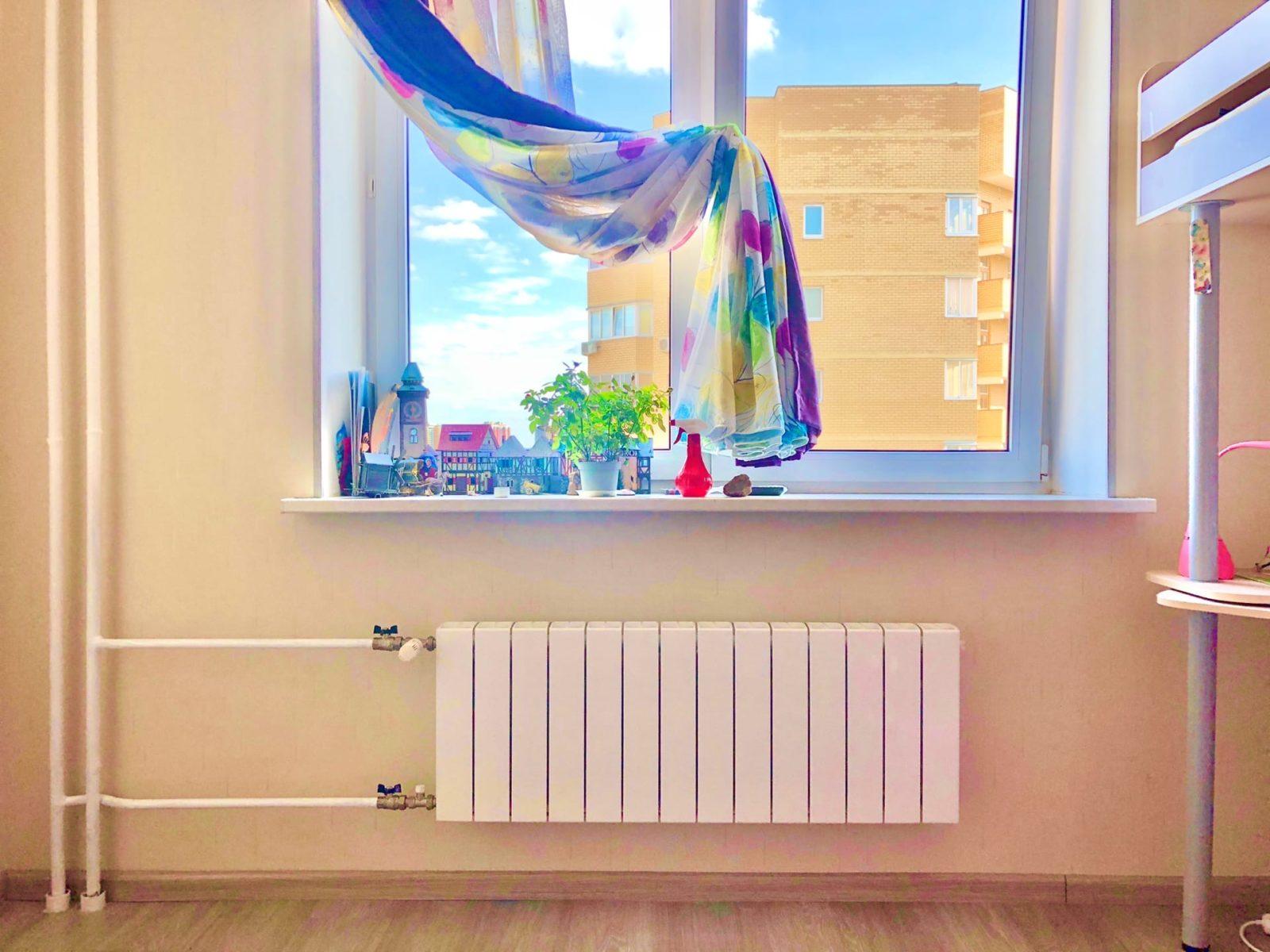замена радиатора отопления в Мытищах